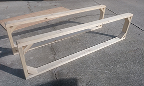 Bed Frame with no stud